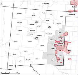 Map of Lesser Prairie-Chicken Activity